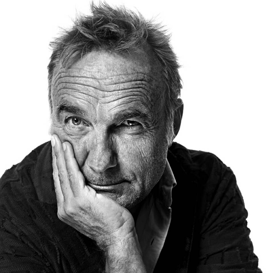 Photo noir et blanc portrait de Christophe Bourgois Costantini, Intelligences factory