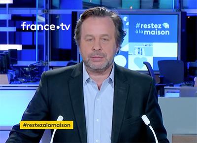 France TV Info - Restez à la maison